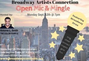 Broadway Artists & Friends Open Mic & Mingle(2)